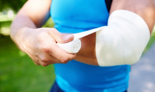 Massage therapy for elbow pain